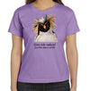 Dive Into Nature Penguin Women's T-Shirt in Lavender