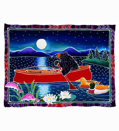 Red Canoe by Harriet Peck Taylor