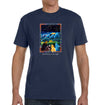 Stargazing Organic T-Shirt in Pacific Blue