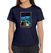 Stargazing Women's T-Shirt in Navy Blue