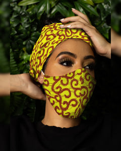 NIMI Headwrap & Mask