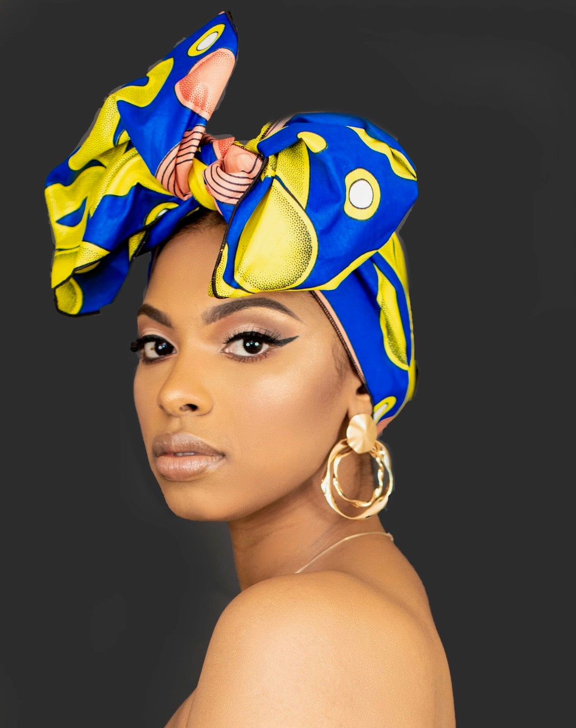 MAYRA  African Print Headwrap