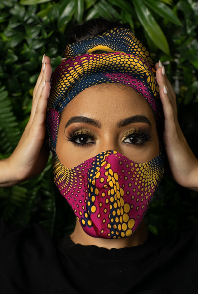 Faith Headwrap & Mask