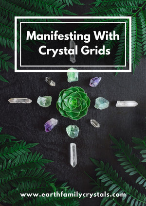 Manifesting with Crystal Grids