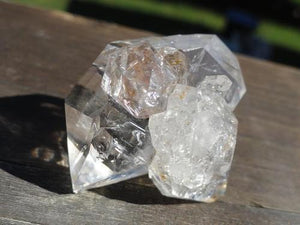 Herkimer Diamond Cluster - Earth Family Crystals