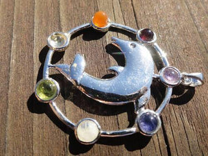 Dolphin Pendant - Earth Family Crystals