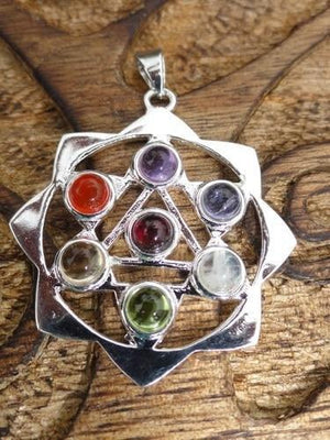 Universal Life Force Of Energy Pendant - Earth Family Crystals
