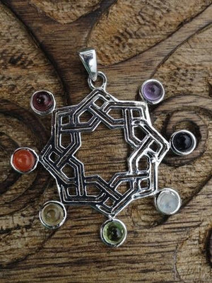 Celtic Knot Pendant - Earth Family Crystals