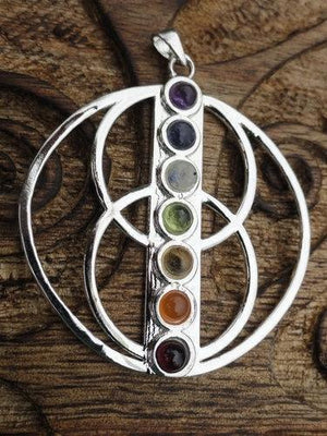 Celtic Wheel of Life Pendant - Earth Family Crystals