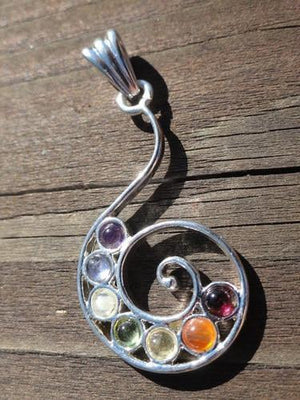 Swirl Pendant - Earth Family Crystals