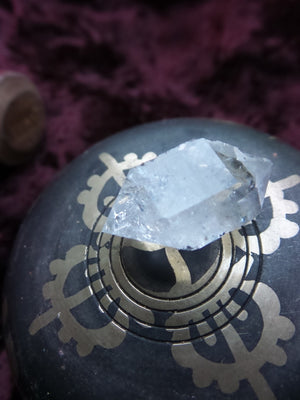 High Vibes~ Double Terminated Herkimer Diamond Specimen - Earth Family Crystals