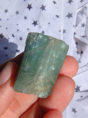 Fabulous Blue Aquamarine Point Specimen From India