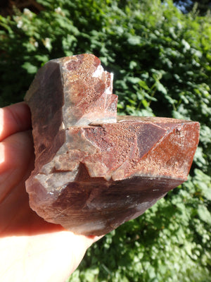 Incredible Red Mountain Large Auralite-23 Reiki Stone Standing Specimen With Record Keepers From Canada