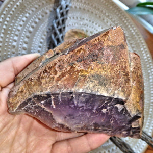 Soothing Body Red Mountain Auralite-23 Elestial  Point With Record Keepers From Canada