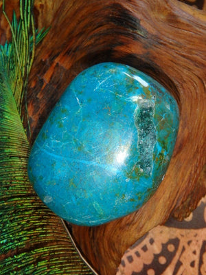 Spring Dreams~ Robin Egg Blue Chrysocolla Specimen - Earth Family Crystals