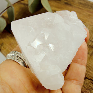 Incredible Self Healed Elestial Clear Quartz Point With Record Keepers From Brazil