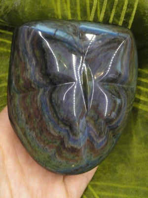 Absolutely Gorgeous RAINBOW OBSIDIAN BUTTERFLY Self Standing Display Specimen - Earth Family Crystals