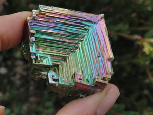 Shiny RAINBOW BISMUTH SPECIMEN - Earth Family Crystals