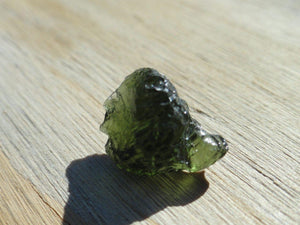 GREEN MOLDAVITE SPECIMEN - Earth Family Crystals