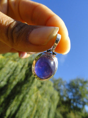 AMETHYST PENDANT In Sterling Silver* Includes Silver Chain - Earth Family Crystals