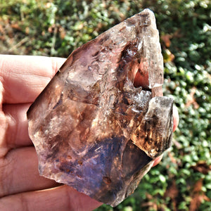 Deep Caves & Self Healing  Elestial Smoky Quartz From Brazil