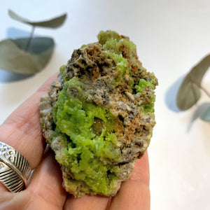 Natural Electric Green Pyromorphite Specimen With Deep Caves~ Locality China - Earth Family Crystals