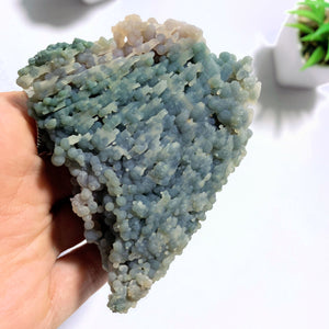 Incredible & Unusual Multi Coloured Grape Agate Large Specimen From Indonesia