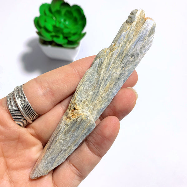 High Shine Natural Light Blue Kyanite From Brazil #1