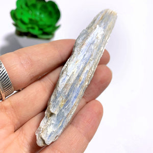 High Shine Natural Light Blue Kyanite From Brazil #3