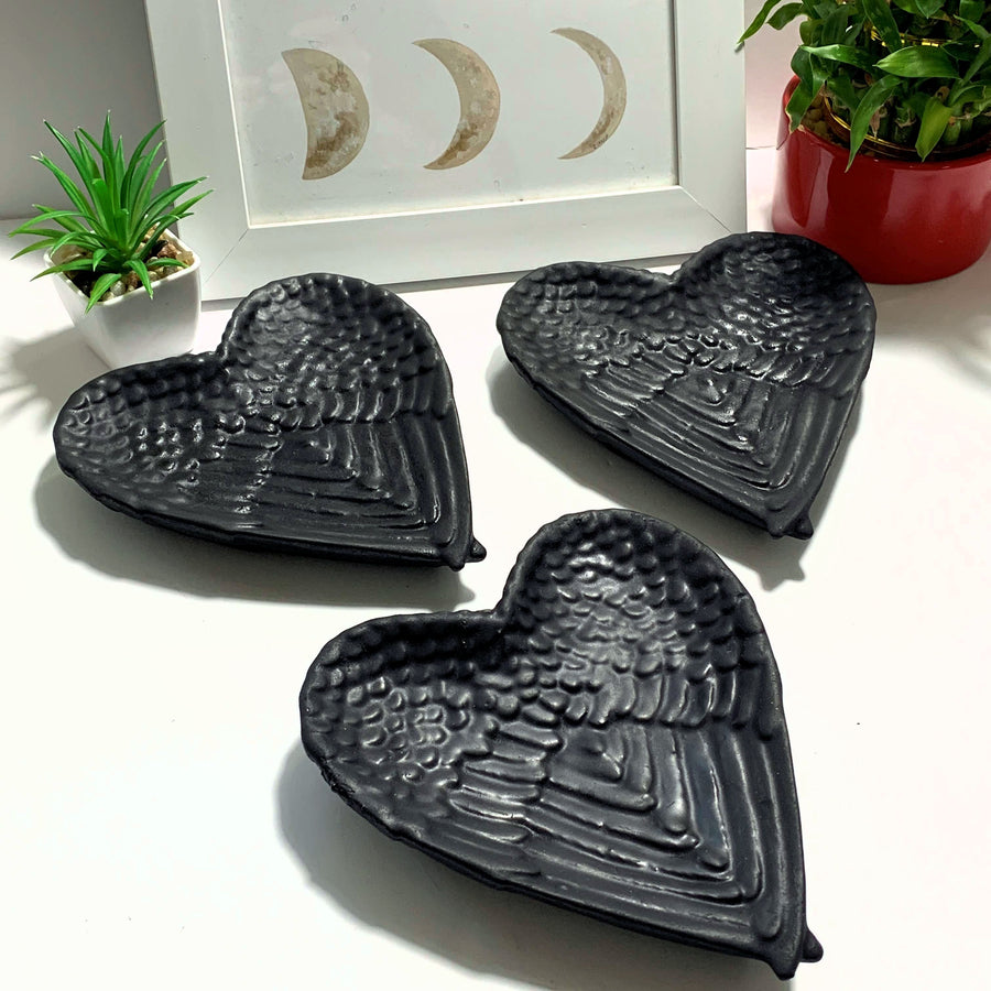 One Shungite Angel Wing Bowl~Ideal to Hold Jewelry!