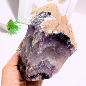 1.4 KG Big & Chunky Elestial Auralite-23 Red Hematite Point With Record Keepers From Ontario, Canada
