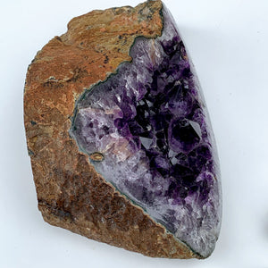 XXL Deep Purple Amethyst Geode Display Specimen From Uruguay - Earth Family Crystals