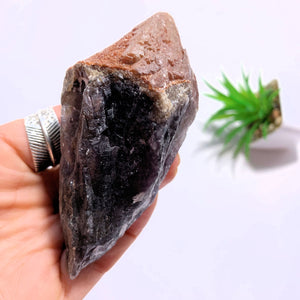 Gorgeous Natural Red Amethyst Point From Brazil