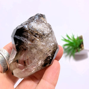 Smoky Quartz Double Terminated Specimen From Brazil - Earth Family Crystals