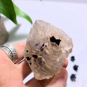 Nirvana Ice Quartz With Self Healing from The Himalayas