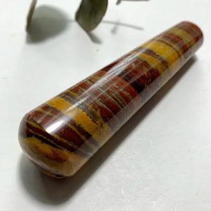 Red Stripped Zebra Jasper Wand From India #3 - Earth Family Crystals