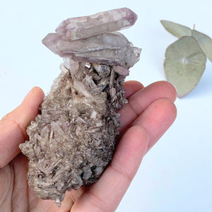 Healing Lithium Quartz Large Cluster From Brazil #2