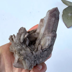 Healing Lithium Quartz Large Cluster From Brazil #5