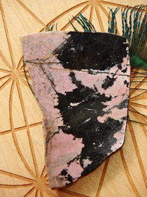 Lovely 2 Tone Australian Rhodonite Partially Polished Free Form Specimen - Earth Family Crystals