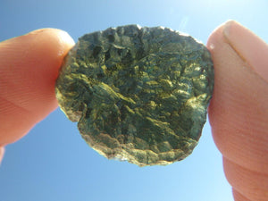 AA GRADE~ High Quality Formation GREEN MOLDAVITE SPECIMEN - Earth Family Crystals