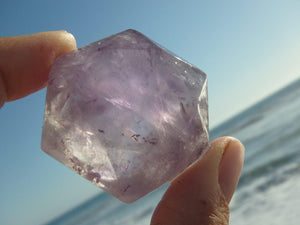 AMETHYST STAR OF DAVID Sacred Geometric Shape* - Earth Family Crystals