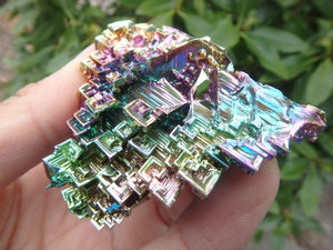 Galactic Village RAINBOW BISMUTH SPECIMEN - Earth Family Crystals