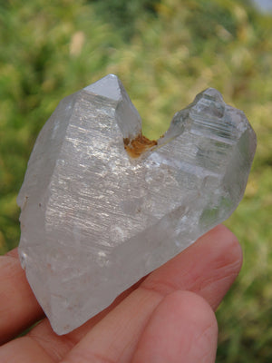 Natural Heart Shape Tibetan Quartz Dt Specimen
