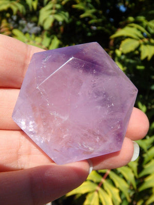 Amethyst Star Of David Carving* - Earth Family Crystals
