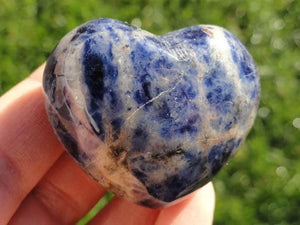 Adorable Blue SODALITE HEART For Lucid Dreaming! - Earth Family Crystals