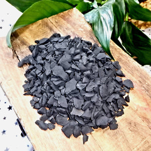 Raw Shungite Water Purification Set of Stones 200 Grams ~Locality Russia - Earth Family Crystals