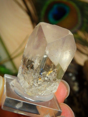 Collectors Specimen~ Terminated White Topaz - Earth Family Crystals