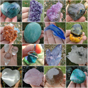 PRIVATE LISTING For Barbara.M* - Earth Family Crystals