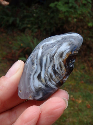 Enhydro Agate Polished Specimen From Brazil - Earth Family Crystals