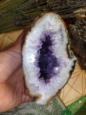 Amethyst Geode 3 - Earth Family Crystals